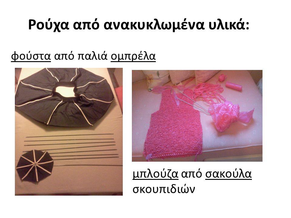 Ρούχα από ανακυκλωμένα υλικά: