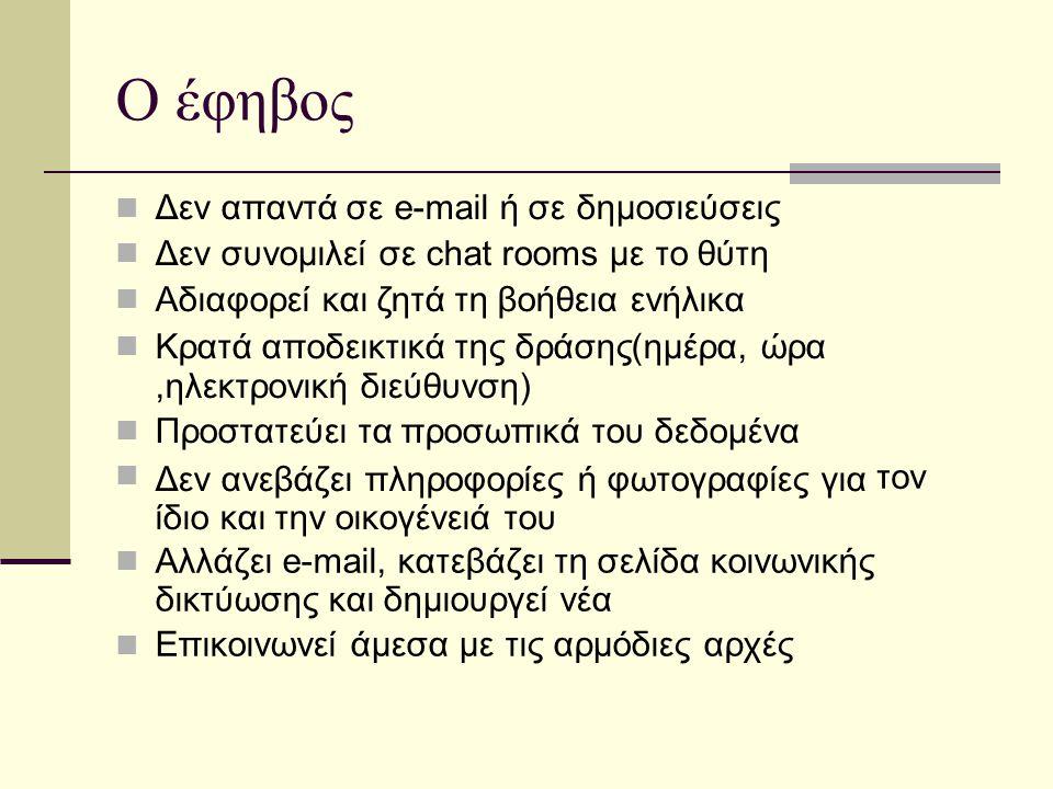 Ο έφηβος ,ηλεκτρονική διεύθυνση)