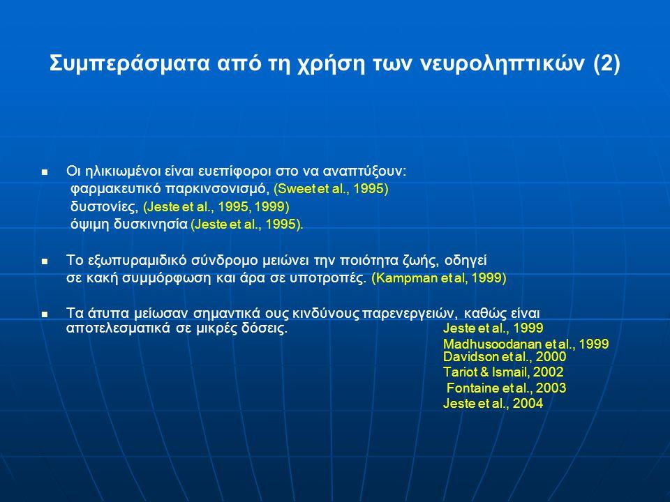 Συμπεράσματα από τη χρήση των νευροληπτικών (2)