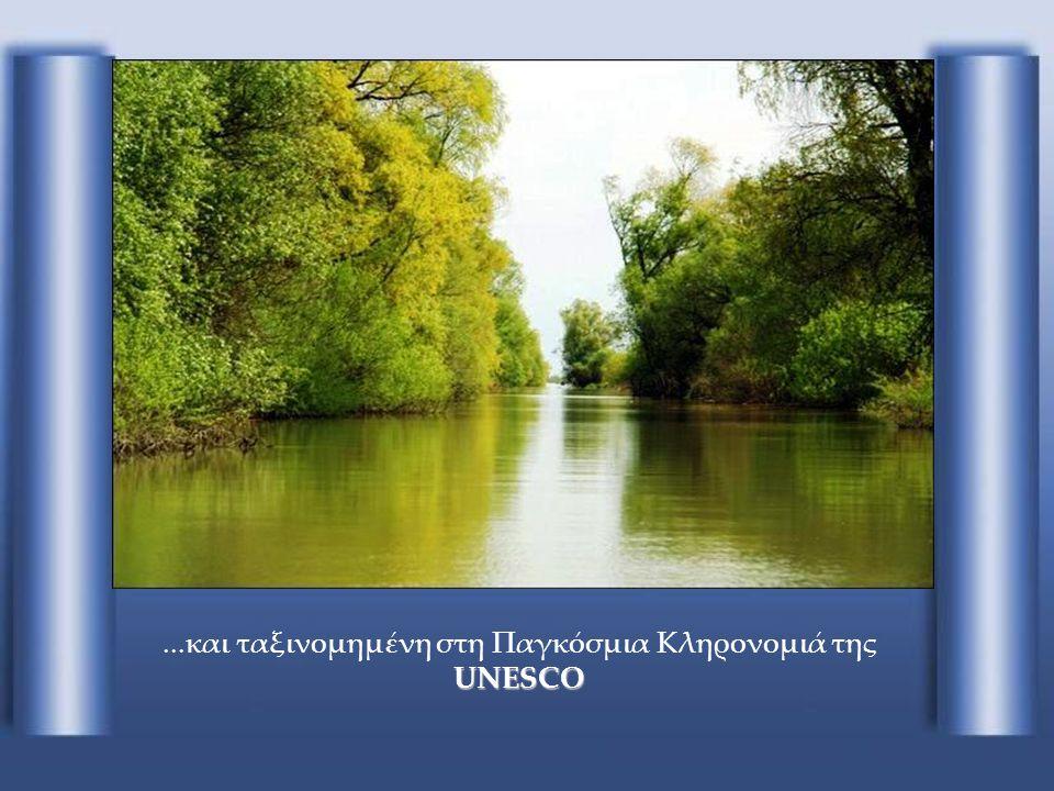 ...και ταξινομημένη στη Παγκόσμια Κληρονομιά της UNESCO