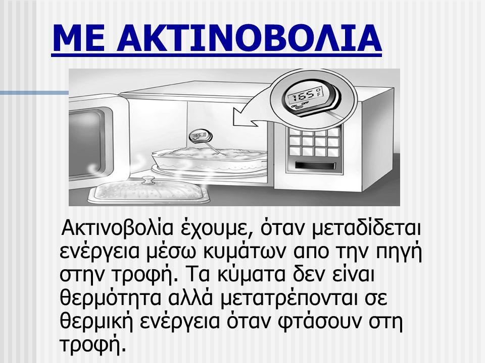 ΜΕ ΑΚΤΙΝΟΒΟΛΙΑ