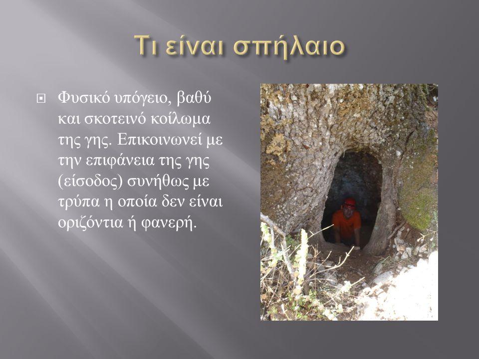 Τι είναι σπήλαιο