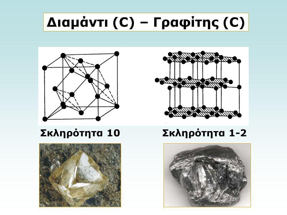 Διαμάντι (C) – Γραφίτης (C)