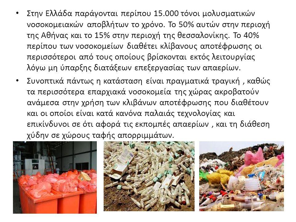 Στην Ελλάδα παράγονται περίπου 15