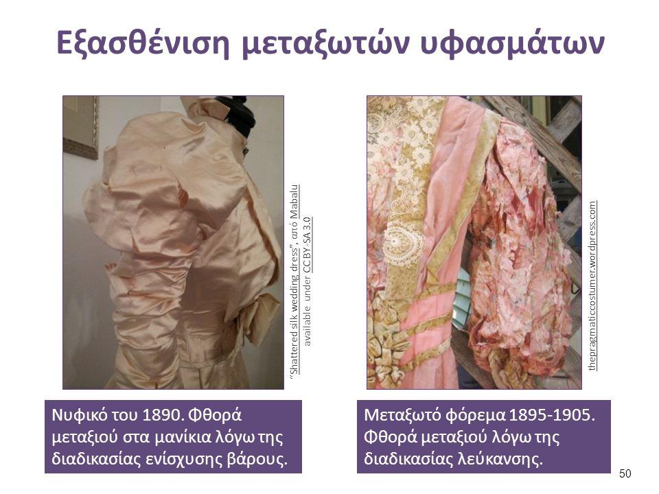 Ενδογενής εξασθένηση: συνδυασμός υλικών