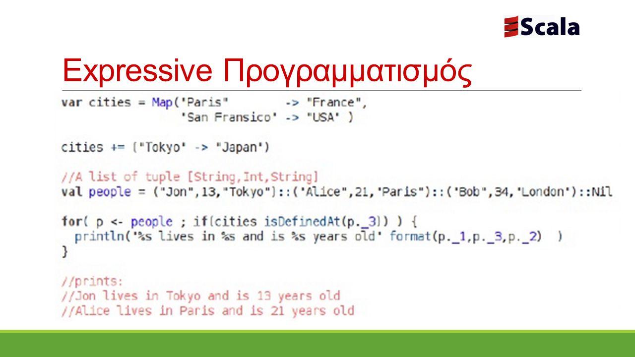 Expressive Προγραμματισμός