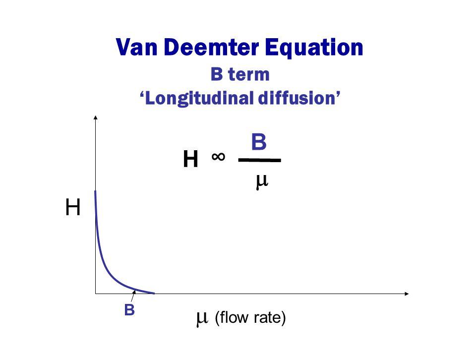 'Longitudinal diffusion'