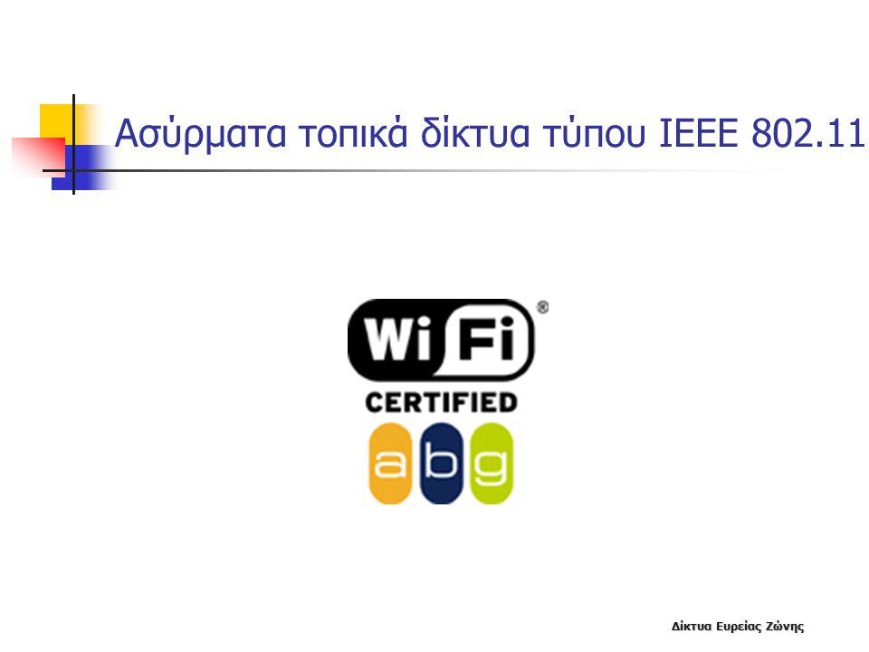 Ασύρματα τοπικά δίκτυα τύπου ΙΕΕΕ 802.11