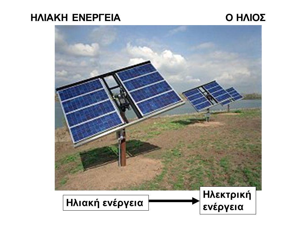 ΗΛΙΑΚΗ ΕΝΕΡΓΕΙΑ Ο ΗΛΙΟΣ Ηλεκτρική ενέργεια Ηλιακή ενέργεια
