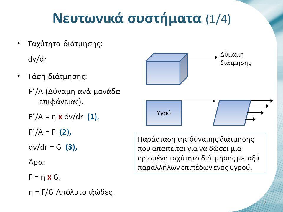 Νευτωνικά συστήματα (2/4)