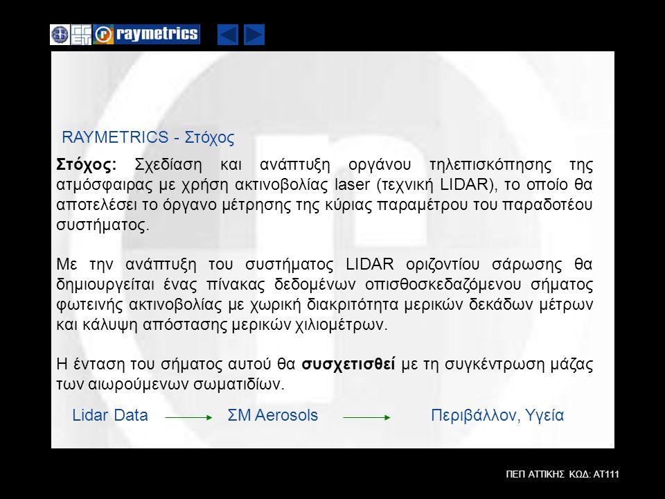 RAYMETRICS - Στόχος