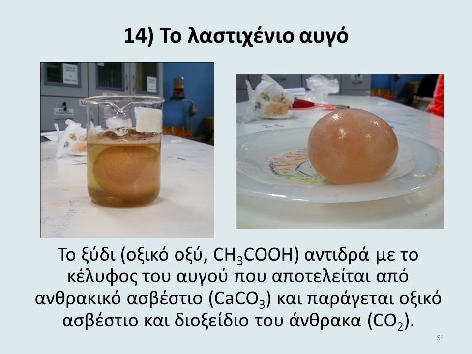 14) Το λαστιχένιο αυγό