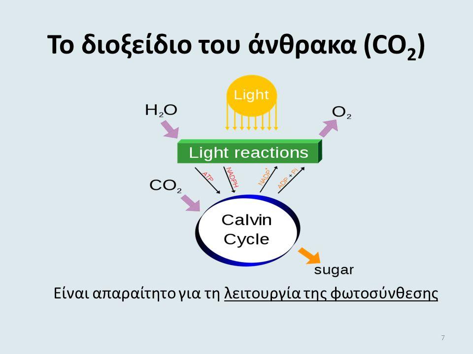 Το διοξείδιο του άνθρακα (CO2)