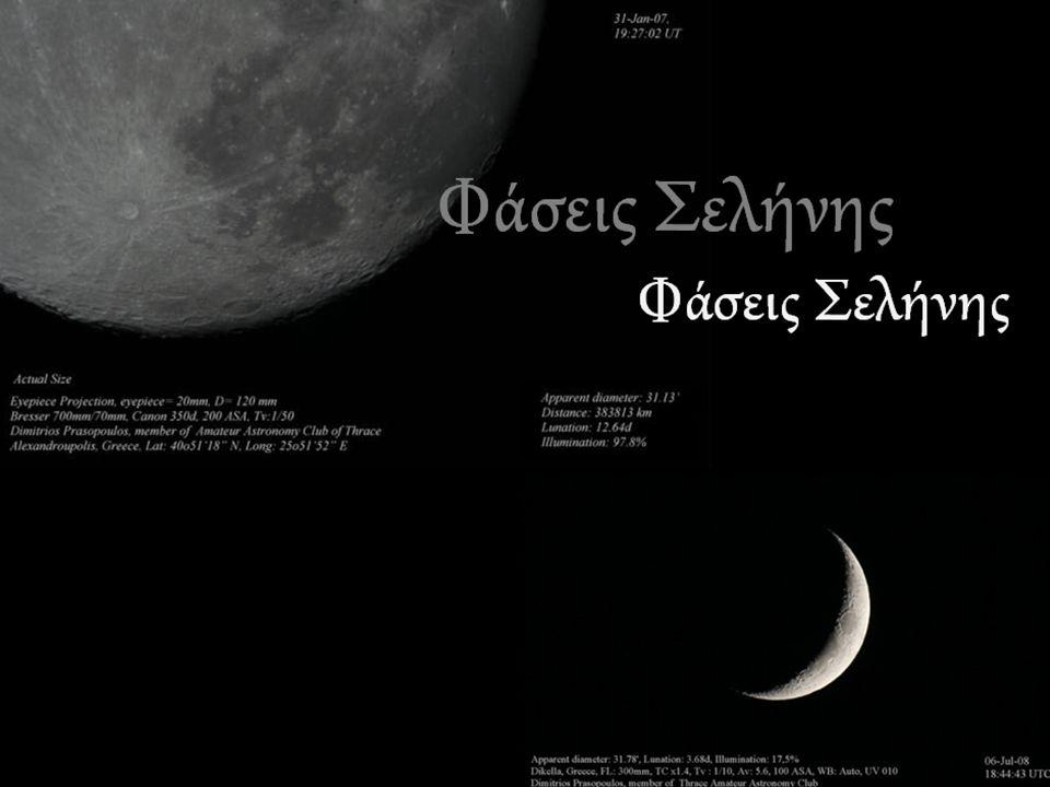 Φάσεις Σελήνης Φάσεις Σελήνης