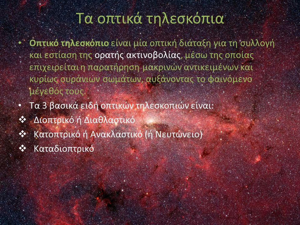 Τα οπτικά τηλεσκόπια