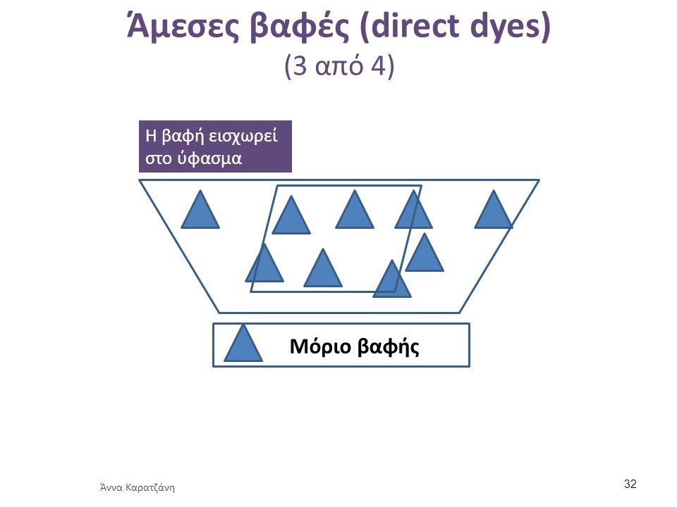 Άμεσες βαφές (direct dyes) (4 από 4)