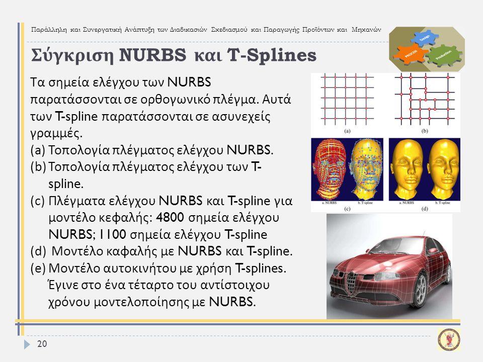 Σύγκριση NURBS και T-Splines