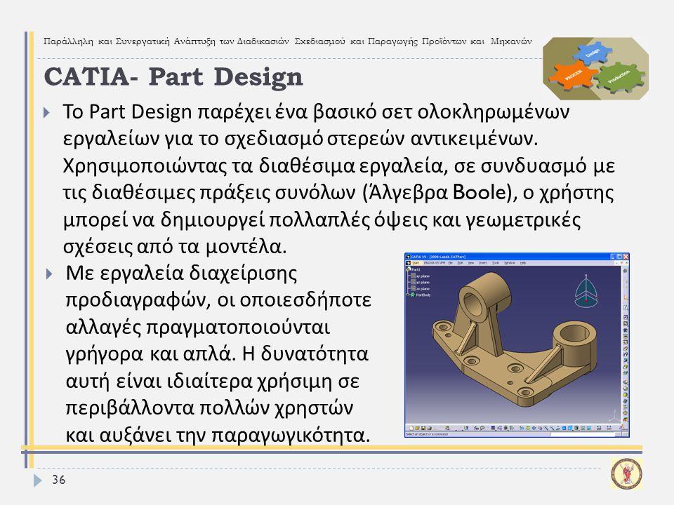 CATIA- Part Design