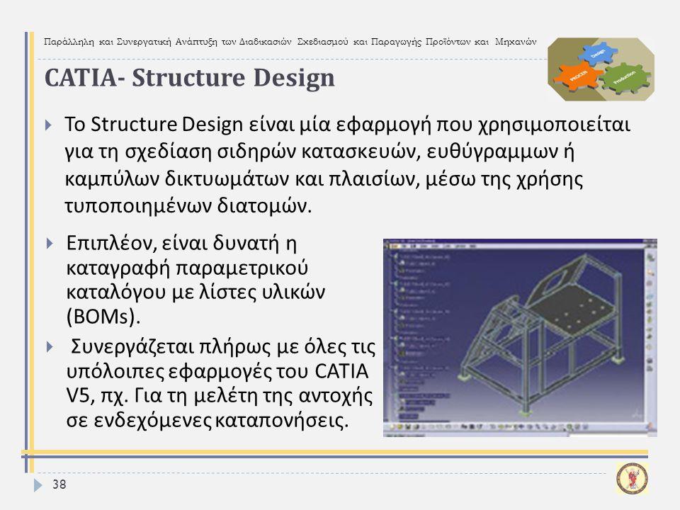 CATIA- Structure Design