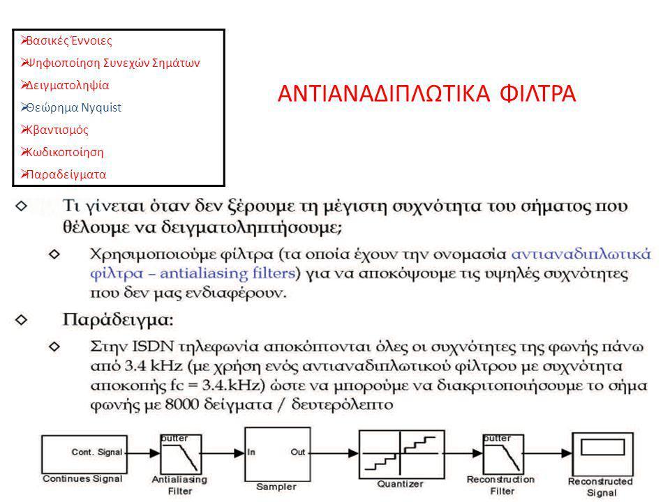 ΑΝΤΙΑΝΑΔΙΠΛΩΤΙΚΑ ΦΙΛΤΡΑ