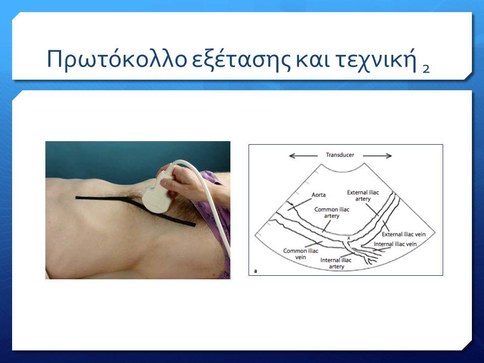 Πρωτόκολλο εξέτασης και τεχνική 2