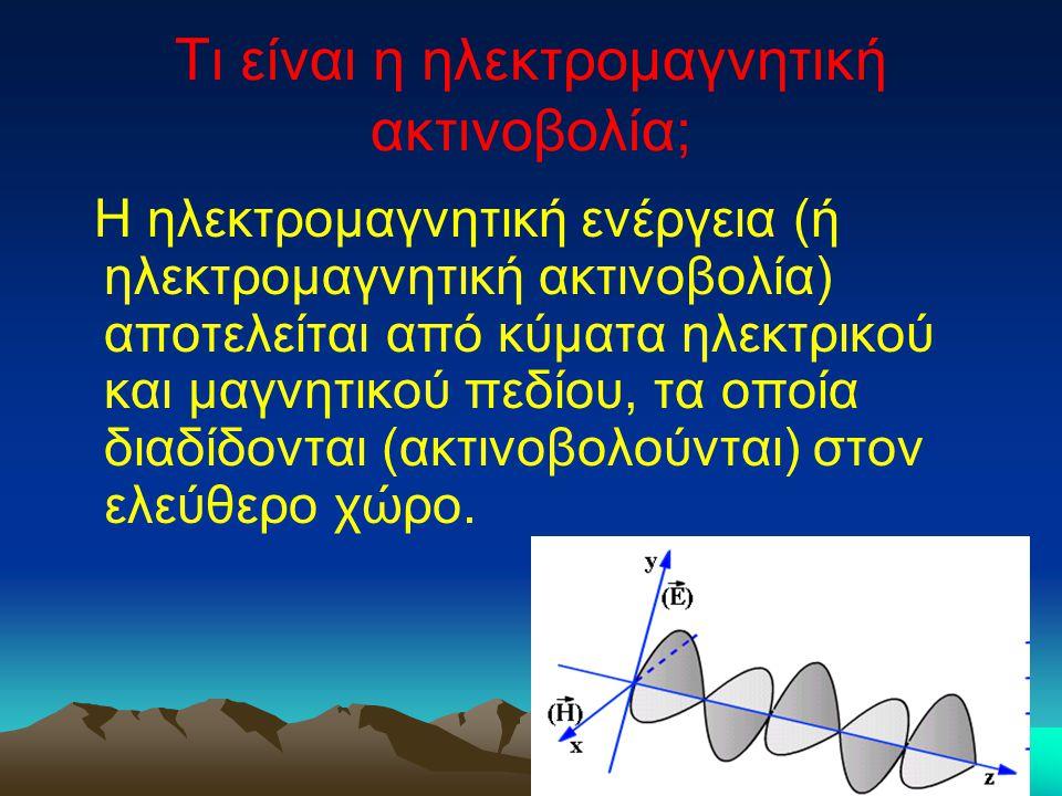 Τι είναι η ηλεκτρομαγνητική ακτινοβολία;