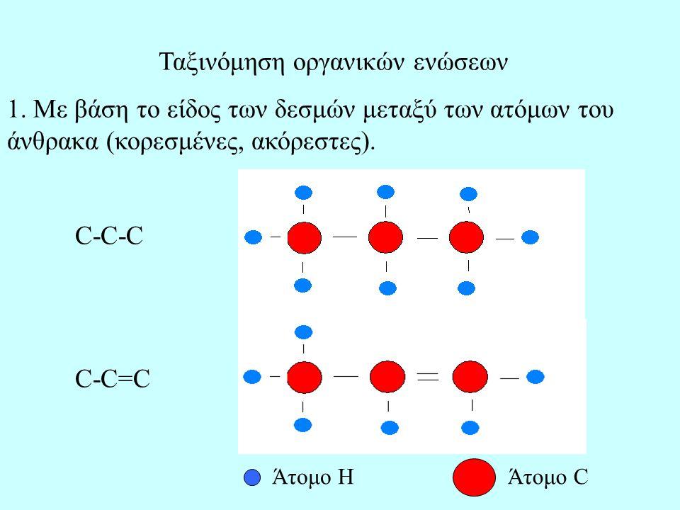 Ταξινόμηση οργανικών ενώσεων