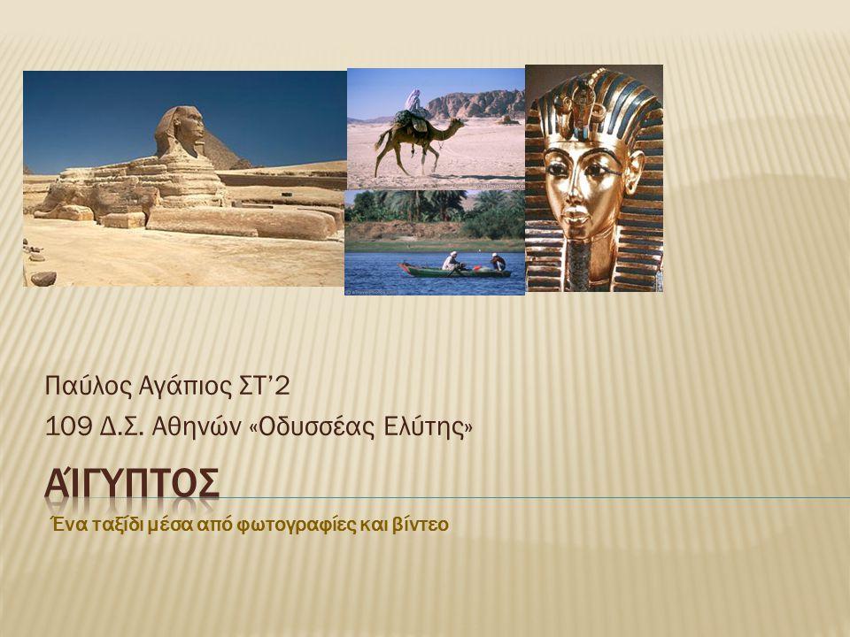 Παύλος Αγάπιος ΣΤ'2 109 Δ.Σ. Αθηνών «Οδυσσέας Ελύτης»