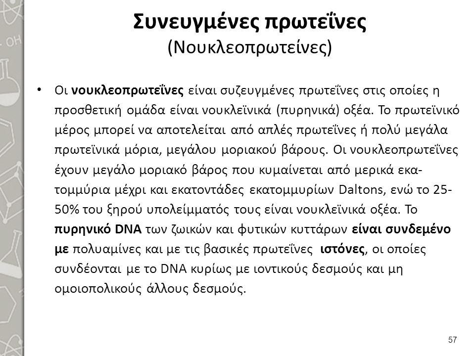Συνευγμένες πρωτεΐνες (Βλεννοπρωτεΐνες)