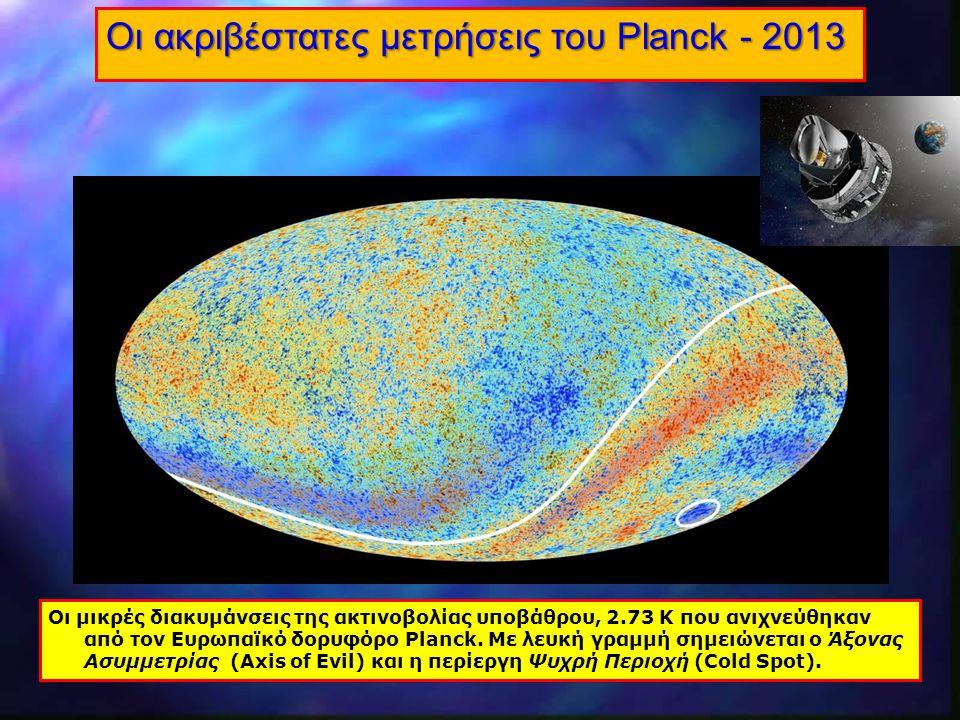 Οι ακριβέστατες μετρήσεις του Planck - 2013