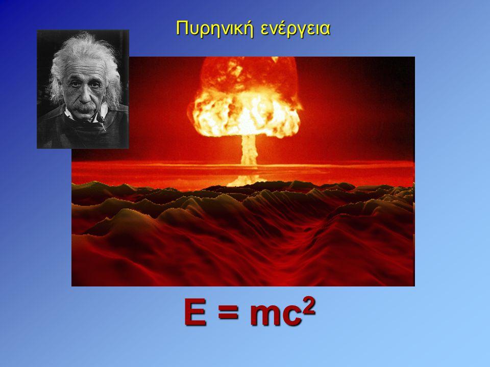 Πυρηνική ενέργεια Ε = mc2