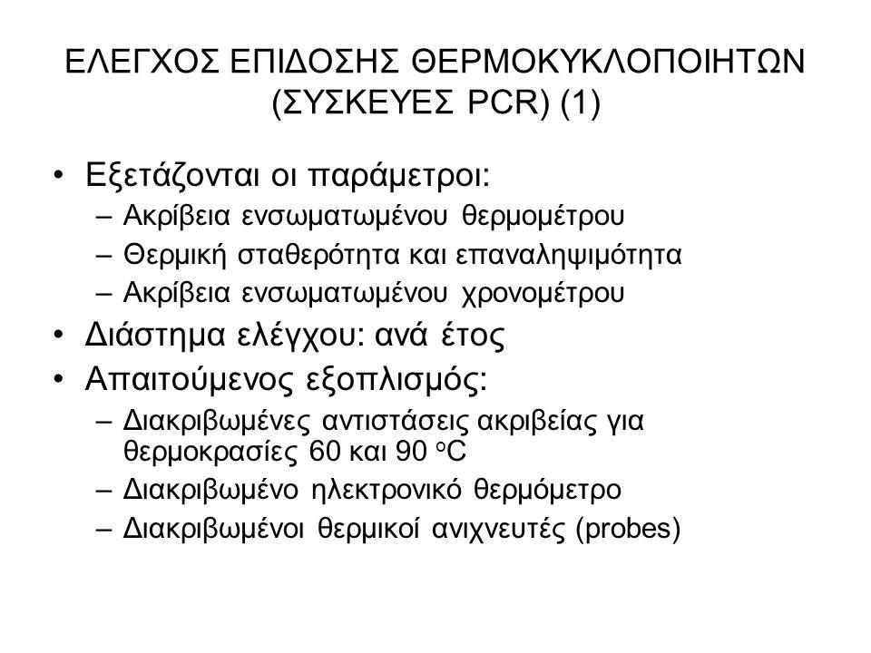 ΕΛΕΓΧΟΣ ΕΠΙΔΟΣΗΣ ΘΕΡΜΟΚΥΚΛΟΠΟΙΗΤΩΝ (ΣΥΣΚΕΥΕΣ PCR) (1)