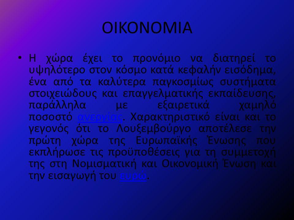 ΟΙΚΟΝΟΜΙΑ