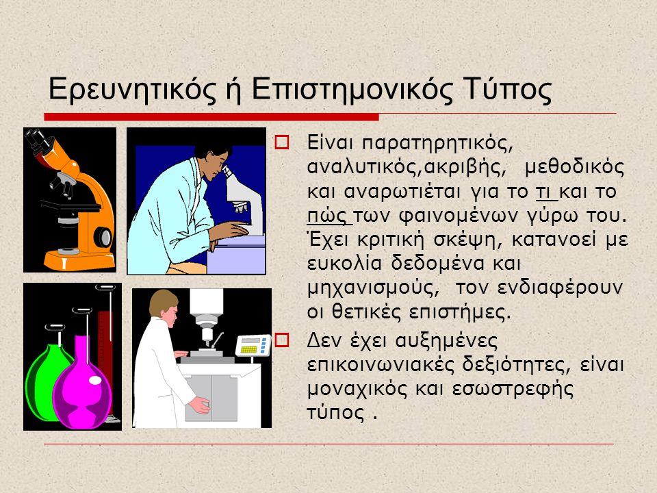 Ερευνητικός ή Επιστημονικός Τύπος