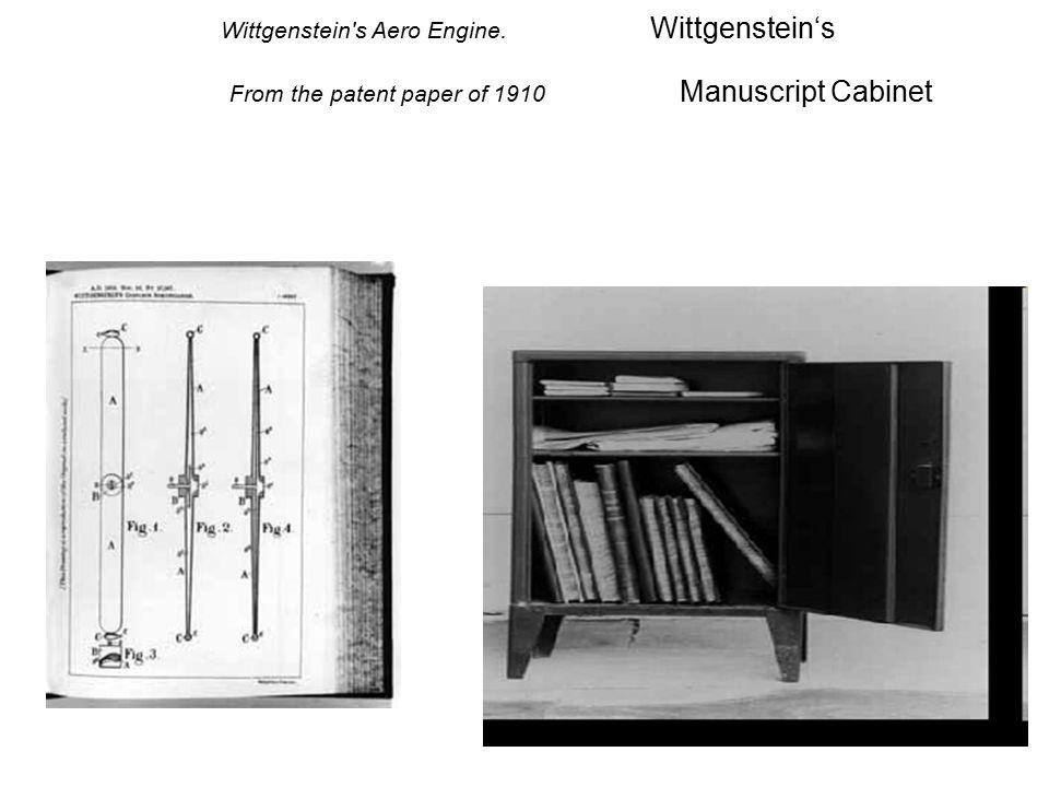 Wittgenstein s Aero Engine. Wittgenstein's