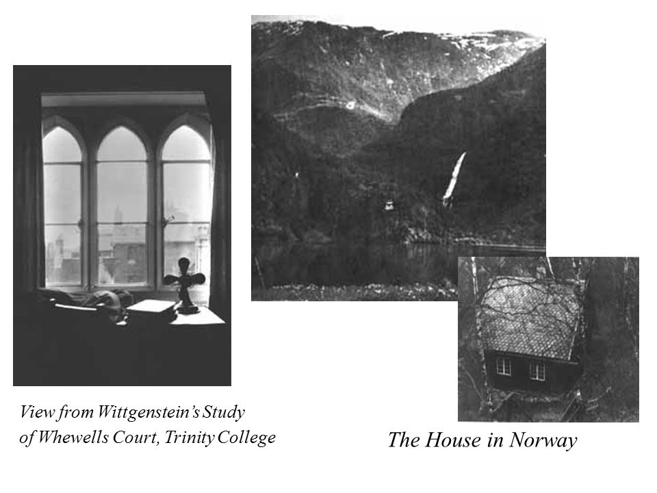 The House in Norway View from Wittgenstein's Study