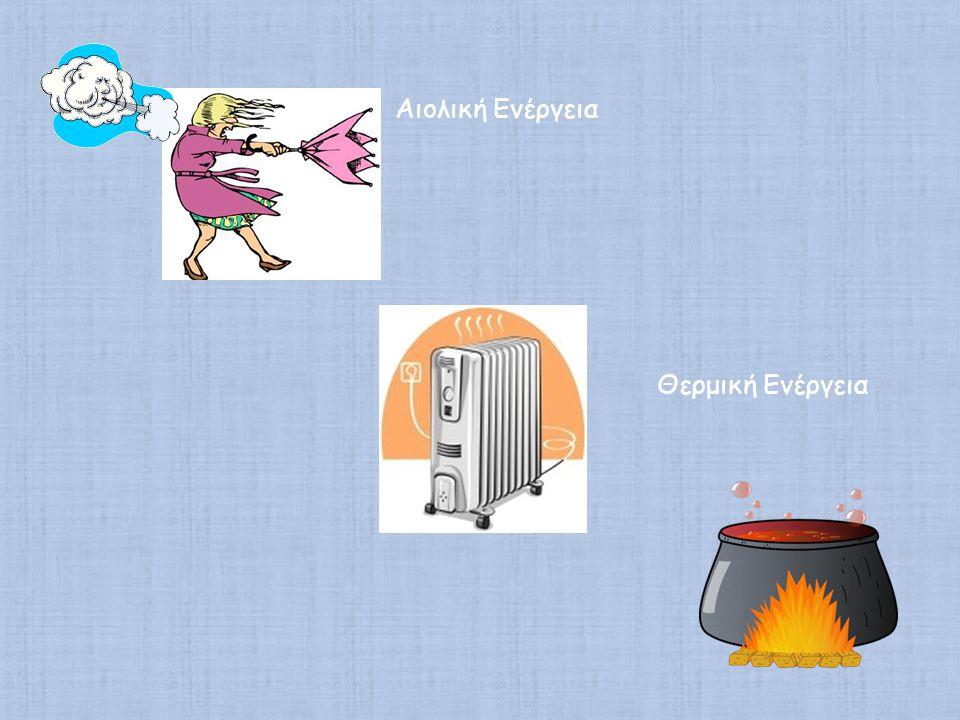 Αιολική Ενέργεια Θερμική Ενέργεια