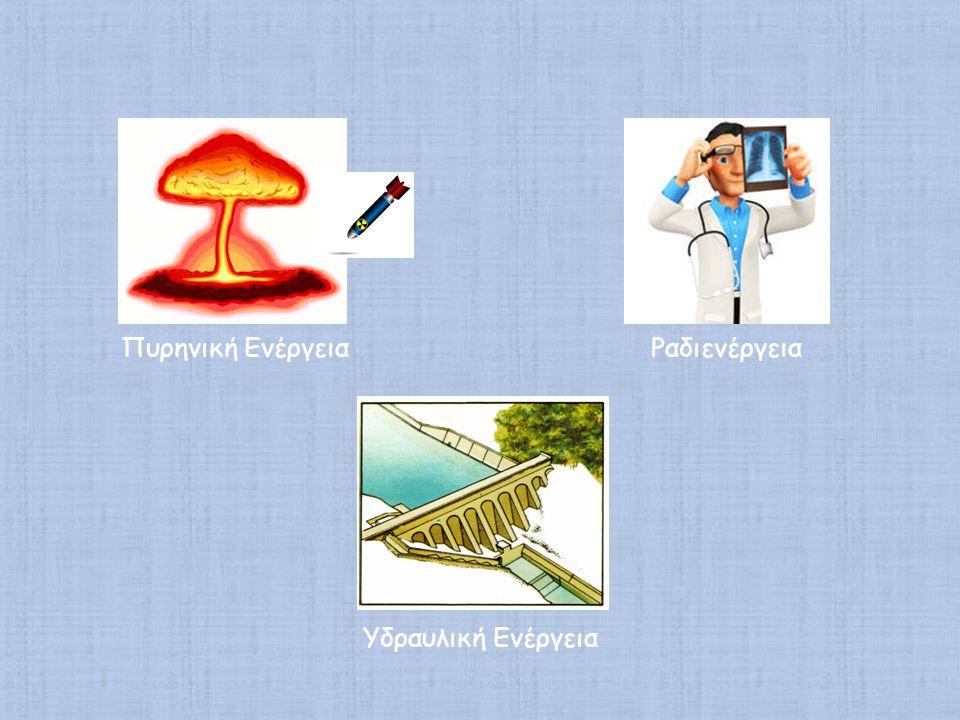 Πυρηνική Ενέργεια Ραδιενέργεια Υδραυλική Ενέργεια