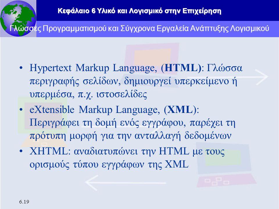 Γλώσσες Προγραμματισμού και Σύγχρονα Εργαλεία Ανάπτυξης Λογισμικού