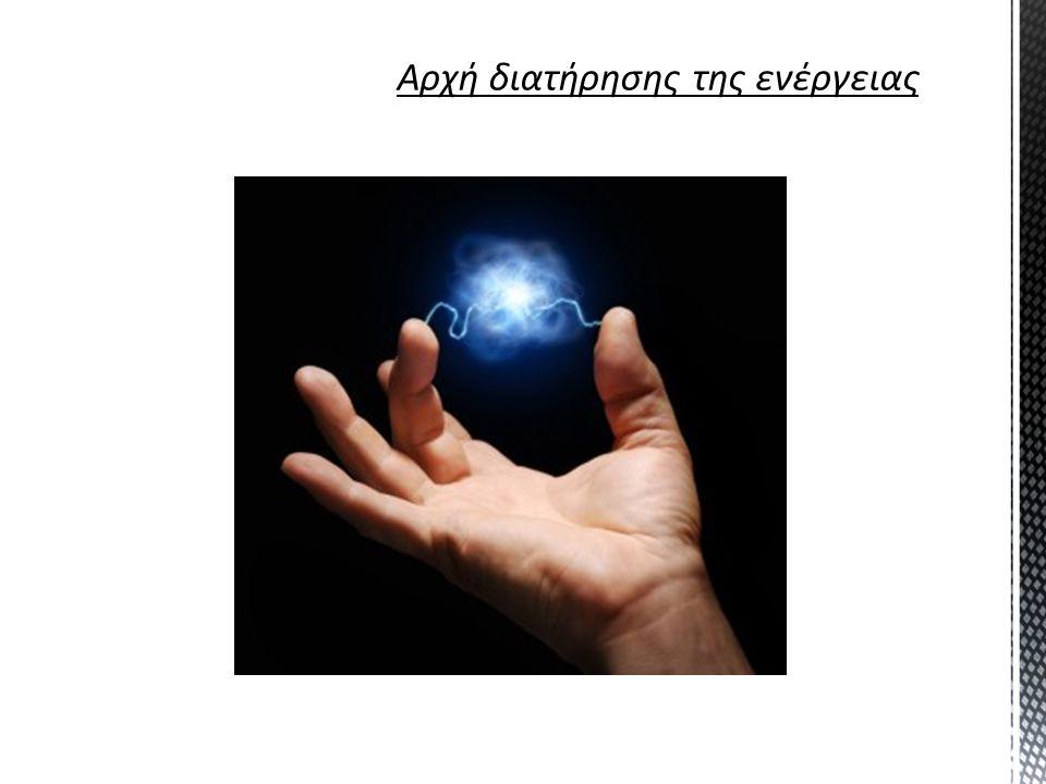 Αρχή διατήρησης της ενέργειας