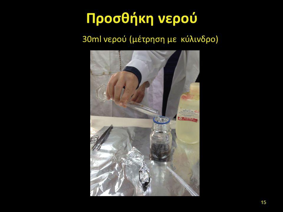 Tween 80 Προσθήκη 0,25 ml Tween 80 με πιπέτα Παστέρ