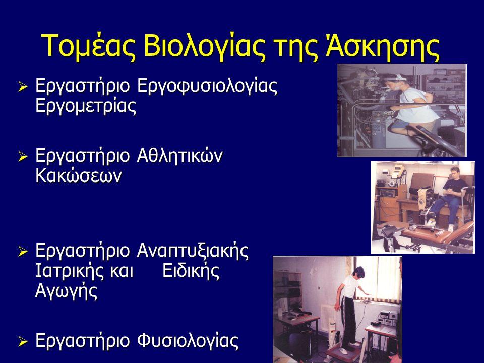 Τομέας Βιολογίας της Άσκησης