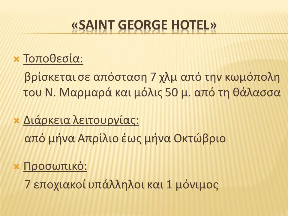 «SAINT GEORGE HOTEL» Τοποθεσία: