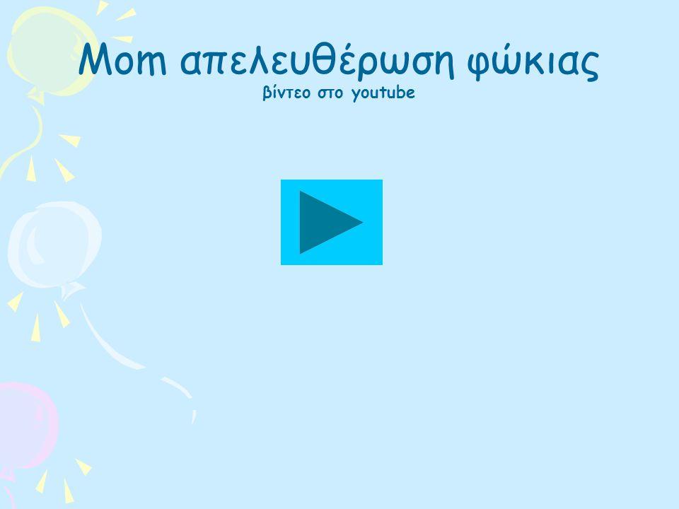 Mom απελευθέρωση φώκιας βίντεο στο youtube