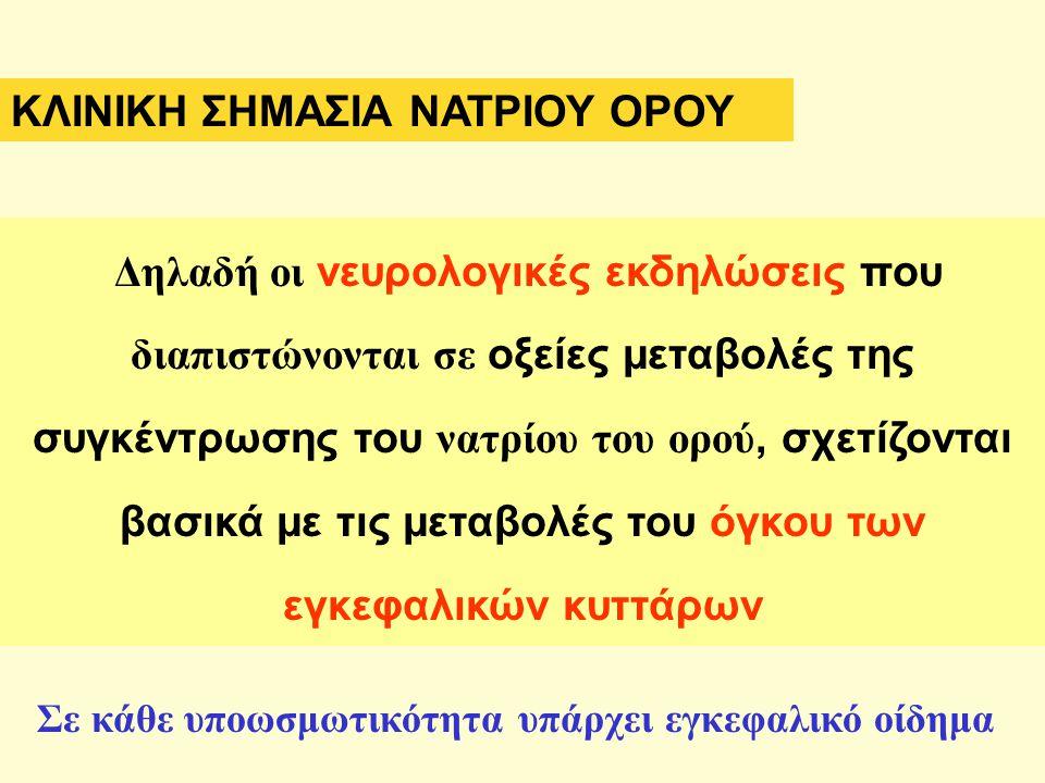 ΚΛΙΝΙΚΗ ΣΗΜΑΣΙΑ ΝΑΤΡΙΟΥ ΟΡΟΥ