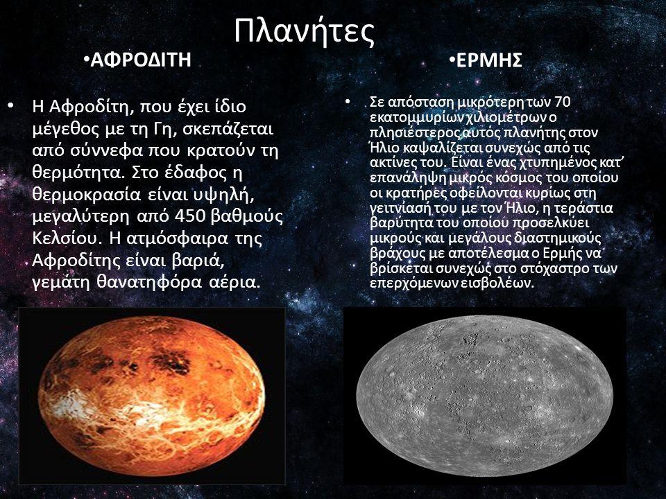 Πλανήτες ΕΡΜΗΣ ΑΦΡΟΔΙΤΗ