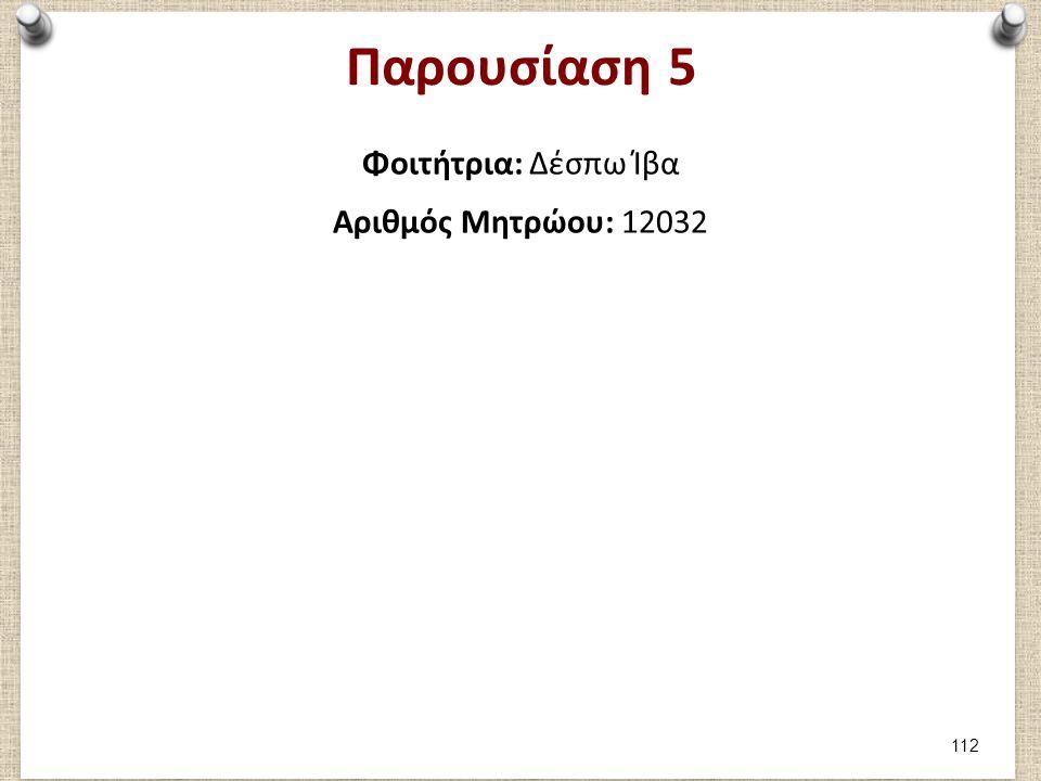Μέρος 1: Καταγραφή 1ου παιχνιδιού (1/2) Φοιτήτρια Δέσπω Ίβα