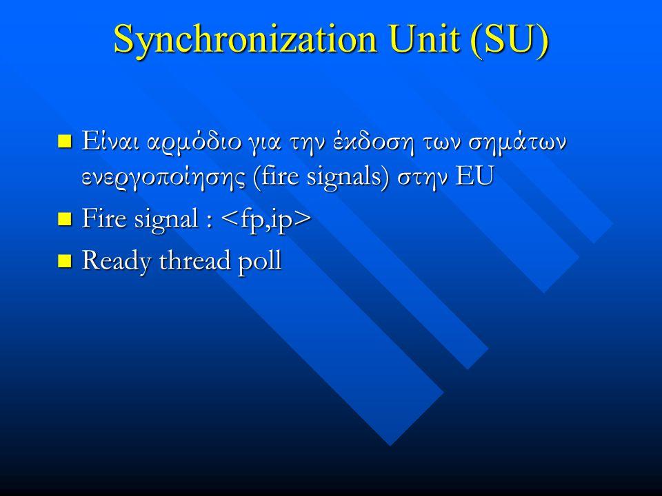 Synchronization Unit (SU)
