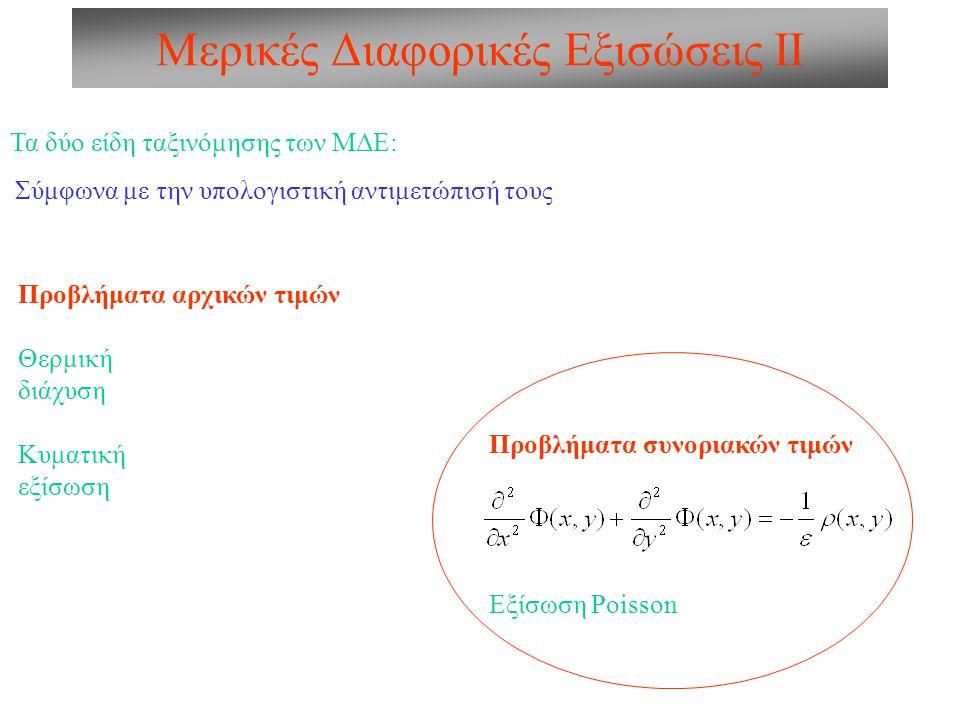 Μερικές Διαφορικές Εξισώσεις ΙΙ