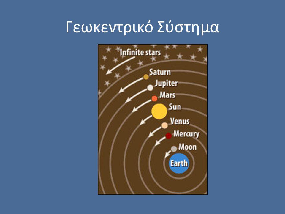 Γεωκεντρικό Σύστημα